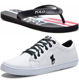 Kit Chinelo Masculino + Tênis Polo Plus Original Promoção!!!
