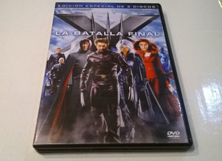 X Men: La Batalla Final, Brett Ratner - 2 Dvd Nacional Ex