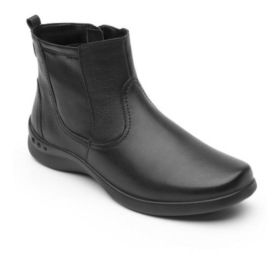 Zapato Botin Casual Dama 48326 Flexi Negro