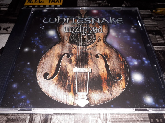Whitesnake Unzipped Cd Importado Nuevo Con Bonus Tracks
