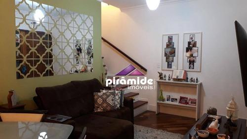 Casa Com 3 Dormitórios À Venda, 134 M² Por R$ 690.000,00 - Jardim Aquarius - São José Dos Campos/sp - Ca5822