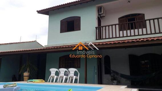 Casa Residencial À Venda, Pontal De Santa Marina, Caraguatatuba. - Ca0155