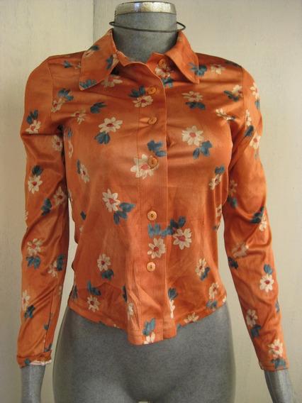 Blusa Estampada Color Talla Ch Marca Village