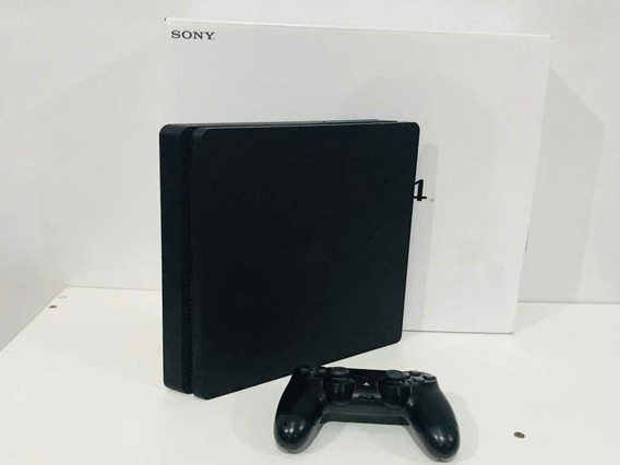 Playstation 4 Ps4 Slim 500gb + Jogo Brinde