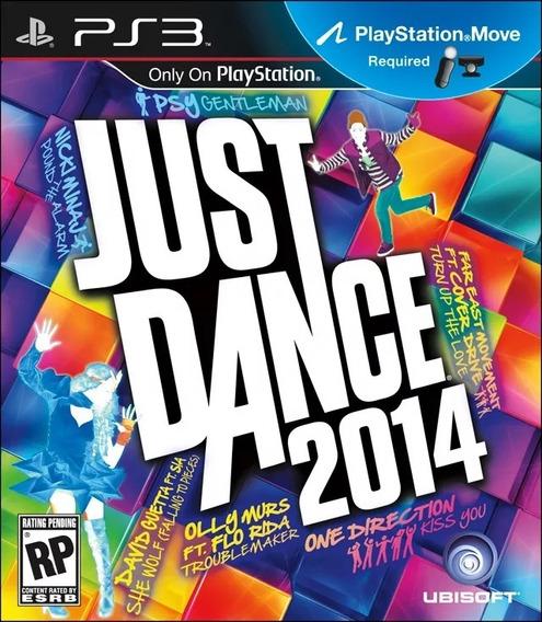 Jogo Just Dance 2014 Playstation 3 Ps3 Original Novo Lacrado