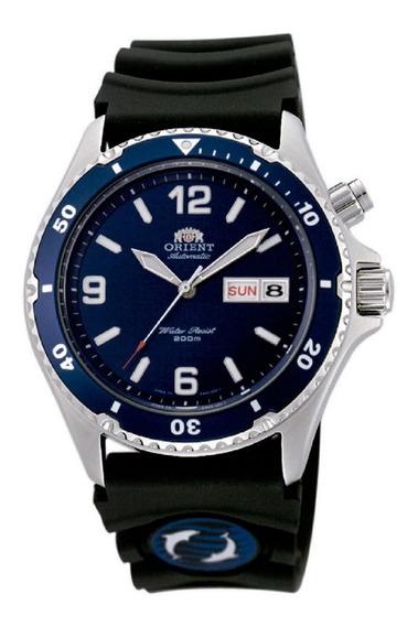 Relógio Orient Automatico Masculino Mako Fem65005dw Mergulho