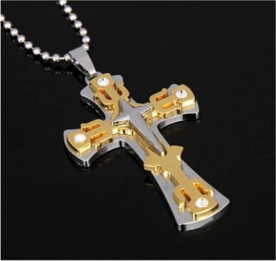 Crucifixo Masculino Grande (muito Bonito)