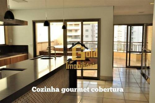 Apartamento Duplex Com 3 Suítes Para Venda, 217 M² Por R$ 690.000,00/ - Jardim Botânico  - Ribeirão Preto/sp - Ad0020