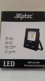 Refletor De Led Jikatec 20w 6500k
