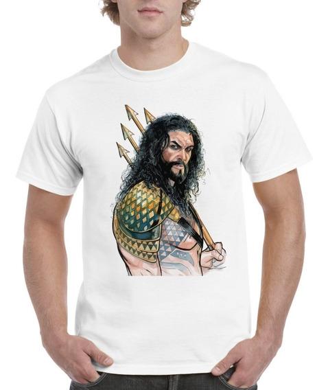 Playeras Y Blusas Aquaman Jason Momoa Originales