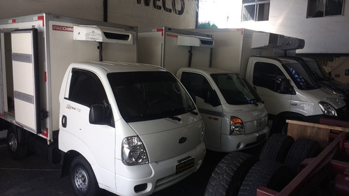 Hyundai Hr E Kia  Bau Refrigerado Piso Canaletado Ano 11