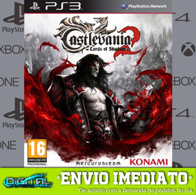 Castlevania Lords Of Shadow 2 Ps3 Midia Digital Envio Rapido