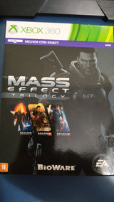 Mass Effect Trilogy (xbox 360) Mídia Fisica