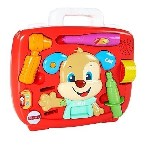 Novo Fisher Price Aprender E Brincar Cuidando Do Cachorrinho