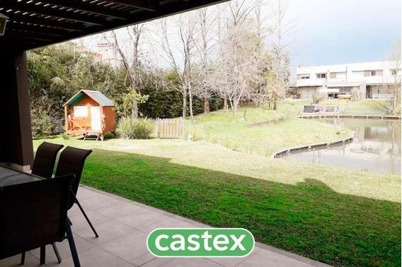 Duplex 3 Dormitorios Con Jardín En Venta En Lago Escondido, Nordelta