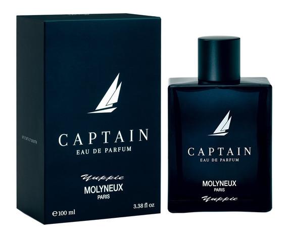 Molyneux Captain Eau De Parfum 100ml Masculino + Amostra