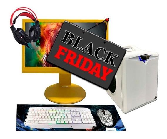 Pc Gamer Hector I3 R7 240 8gb Hd500gb Ssd240gb Black Friday