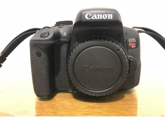 Câmera Fotográfica Canon T6i - Super Completa