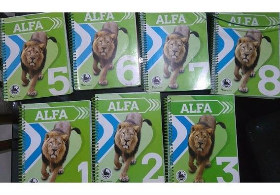 Livros Didáticos Anglo-alfa 1,2,3,5,6,7 E 8