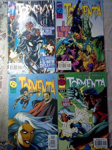 Xmen Tormenta 4 Números Comics Marvel X-men