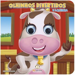 Livro Infantil Olhinhos Divertidos Vaquinha