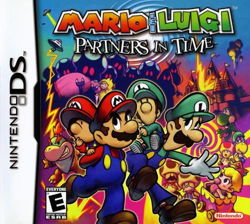 Mario & Luigi Partners In Time - Ds