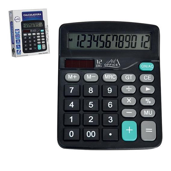 Atacado 10 Calculadora 12 Dígitos De Comércio Digital Preto