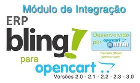 Módulo De Integração Bling Para Opencart