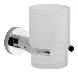 Portacepillo Fv Libby Porta Vaso Metalico Accesorio Cromo Ahora 12 Y 18