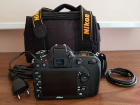 Câmera Nikon D7100 Lente 18-105 Mm F/3.5-5.6g Ed Vr 21k Clic