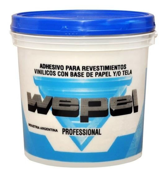 Adhesivo Papel Wepel Profesional Pegamento Empapelar 10kg