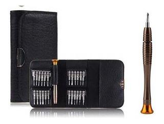 Kit Ferramentas 25 Em 1 Jogo Chaves Reparo Celular Notebook