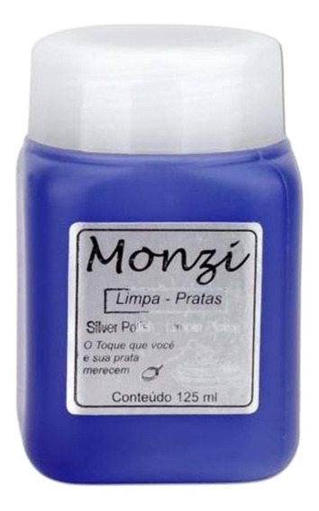 Limpa Prata Monzi Grande 125ml