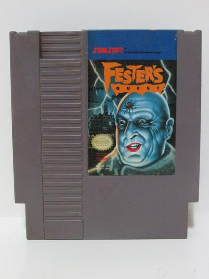 Fester´s Quest - Game Original Nintendo 8 Bits Nintendinho