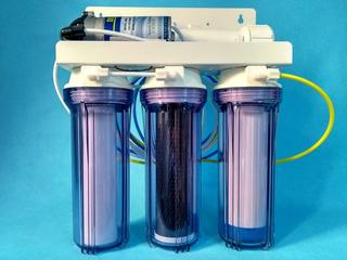 Filtro Osmose Reversa 100gpd + Bomba + Deionizador Transpare