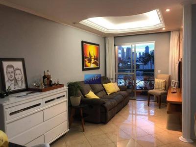 Apartamento Com 3 Dormitórios À Venda, 76 M² Por R$ 450.000 - Chácara Califórnia - São Paulo/sp - Ap0624