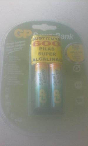 Cargador De Bateria Recargable Aa Gp Powerbank