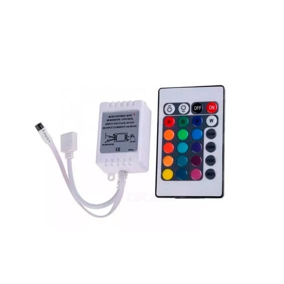 Controladora Rgb + Control Remoto 24 Botones 5050 3528
