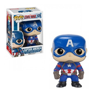 Funko Pop Marvel Civil War- Capitan America 125