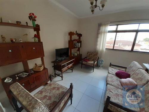 Apartamento Com 3 Dormitórios À Venda, 124 M² Por R$ 600.000,00 - Marapé - Santos/sp - Ap5754
