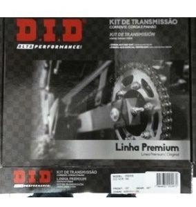 Kit Transmissão/relação Did Com Retentor Fazer 250 Yamaha.