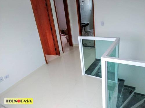 Imagem 1 de 15 de Casa Com 2 Dormitórios À Venda, 43 M² Por R$ 225.000,00 - Maracanã - Praia Grande/sp - Ca4837