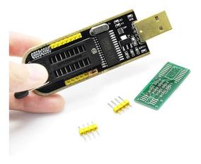 Gravador Usb Flash Eprom Spi Bios 24xx 25xx Programador