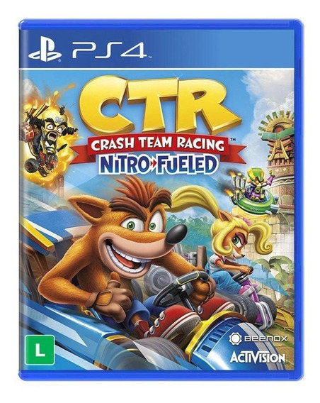 Crash Team Racing Nitrofueled Ps4 Mídia Física Novo Lacrado