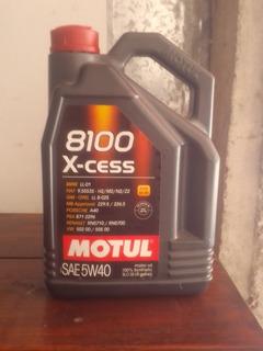 Aceite Motul 8100 X-cess