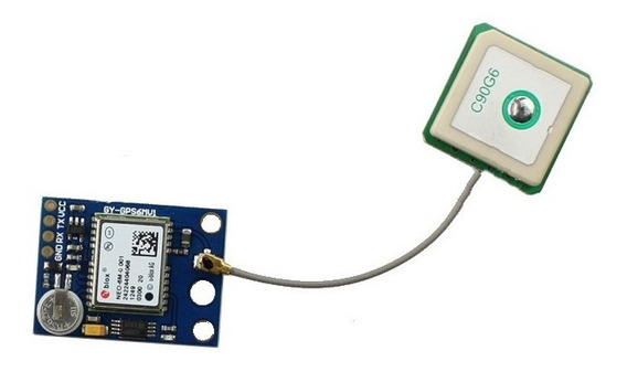 Módulo Gps Ublox Neo-6m Com Eeprom - Arduino