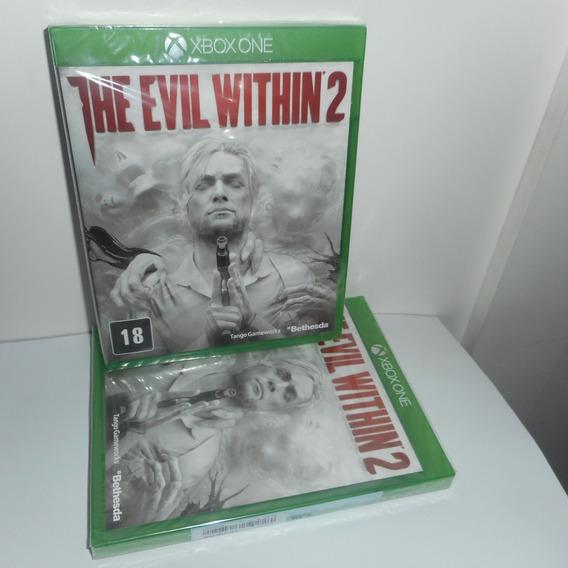 The Evil Within 2 Xbox One Mídia Física Novo Lacrado