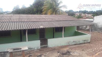Terreno Residencial Co Uma Casa Simples, À Venda, Dom Aquino, Cuiabá. - Ca1067