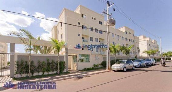 Apartamento Com 2 Dormitórios À Venda, 56 M² Por R$ 225.000,00 - Jardim Morumbi - Londrina/pr - Ap0051