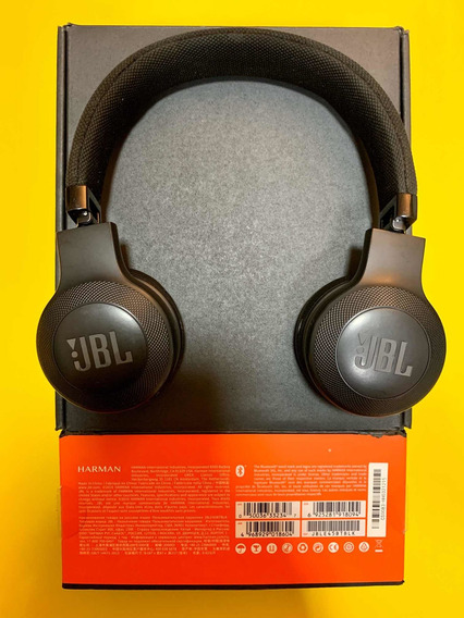 Fone De Ouvido Jbl (original) E45bt Bluetooth On-ear (preto)